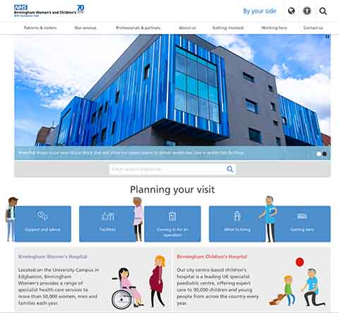 BCH website