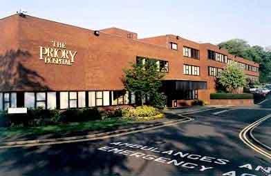 The BMI Priory Hospital in Edgbaston