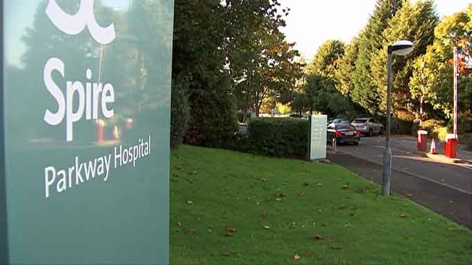 Spire Parkway Hospital Sign